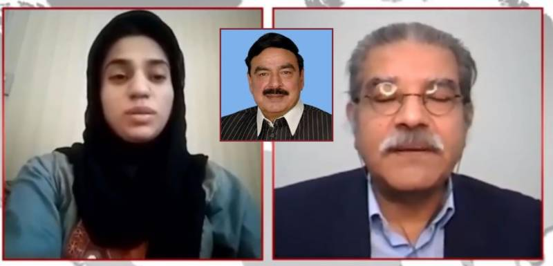 'Photoshopped': Woman from viral photos with Sheikh Rasheed denies any relation with Interior Minister
