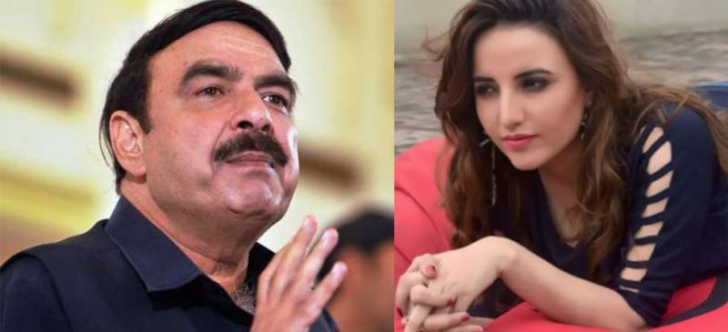 Interior Minister Sheikh Rasheed is my brother, says Hareem Shah