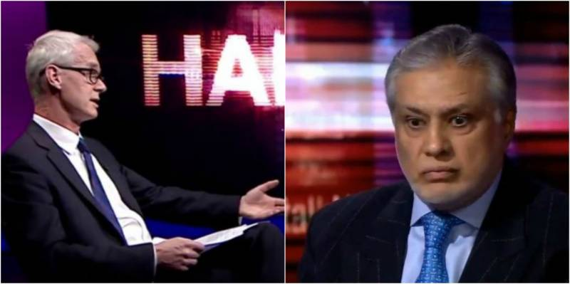 It was Ishaq Dar who 'wanted to be' on HARDtalk, reveals BBC's Stephen Sackur