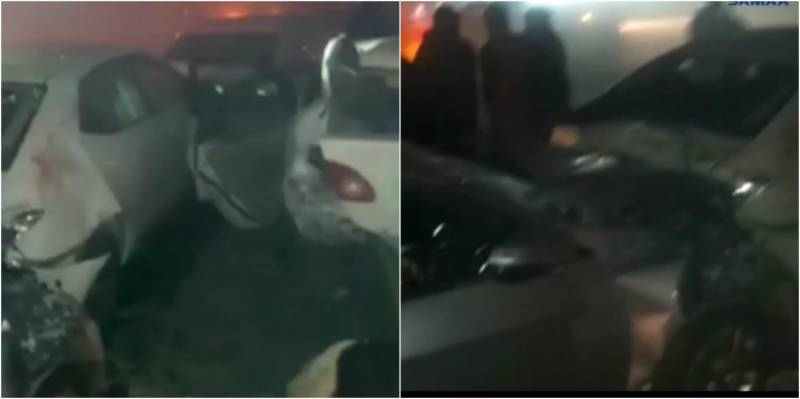 3 killed, 5 injured as fog triggers pile-up on highway near Sharqpur (VIDEO)