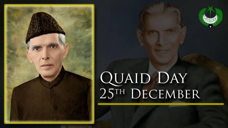Nation celebrates Quaid's 145th birth anniversary today