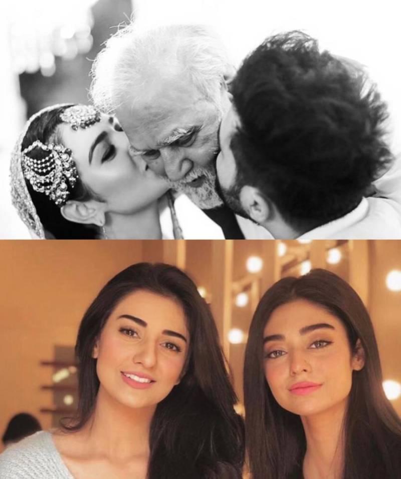 Sarah and Noor Zafar Khan's father passes away