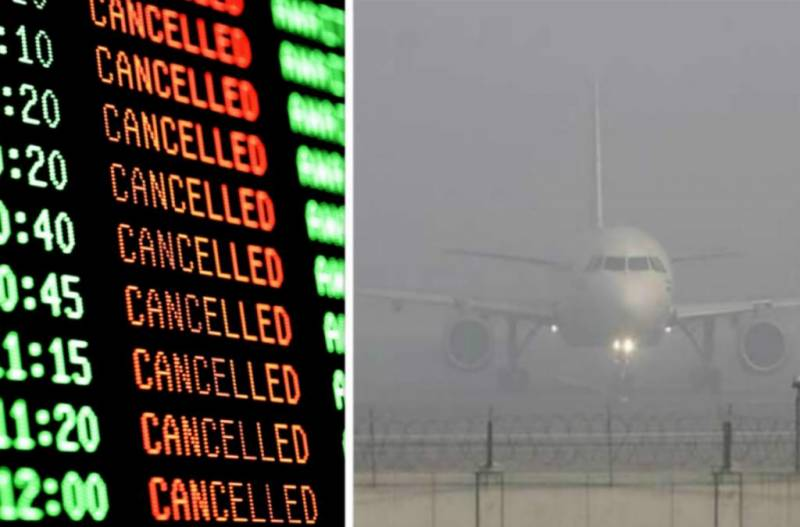 Heavy fog disrupts flights, 300 passengers stranded at Lahore Airport
