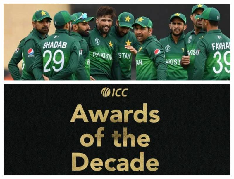 No Pakistan cricketers named in ICC T20I, ODI teams of the decade