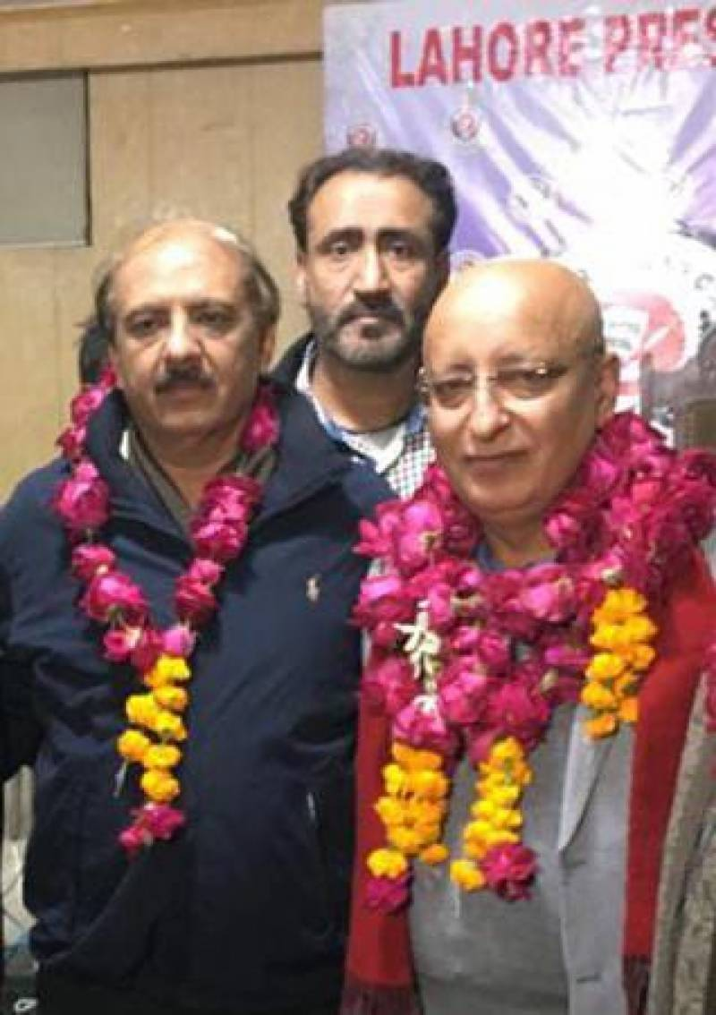 Arshad Ansari wins Lahore Press Club elections again