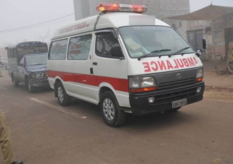 Nearly 150kg charas recovered from ambulance transporting COVID-19 patient to Karachi