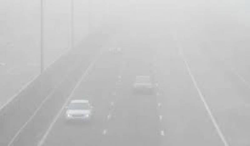 Dense fog closes Motorway for traffic at various sections