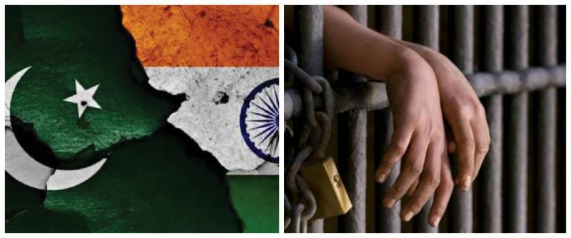 How many Indian prisoners are in Pakistani jails?