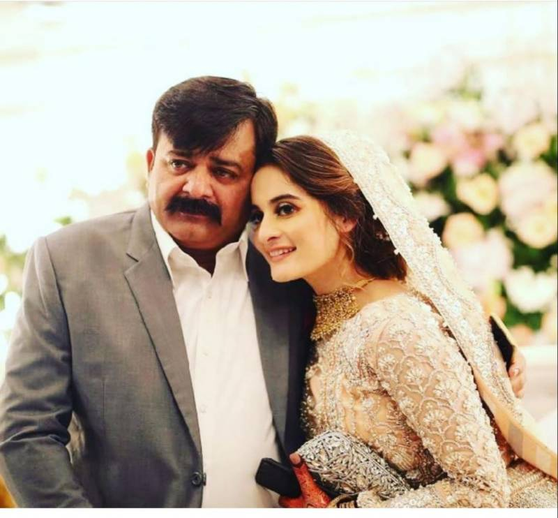 Aiman Khan pens emotional note to late father