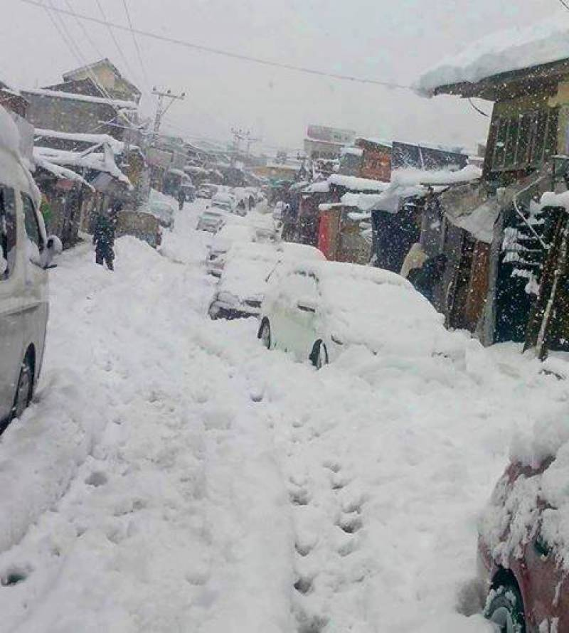 KP issues alerts for heavy rains and snowfall