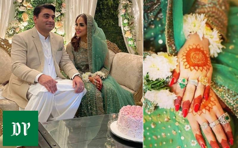 Nadia Khan just dropped pictures of her third marriage