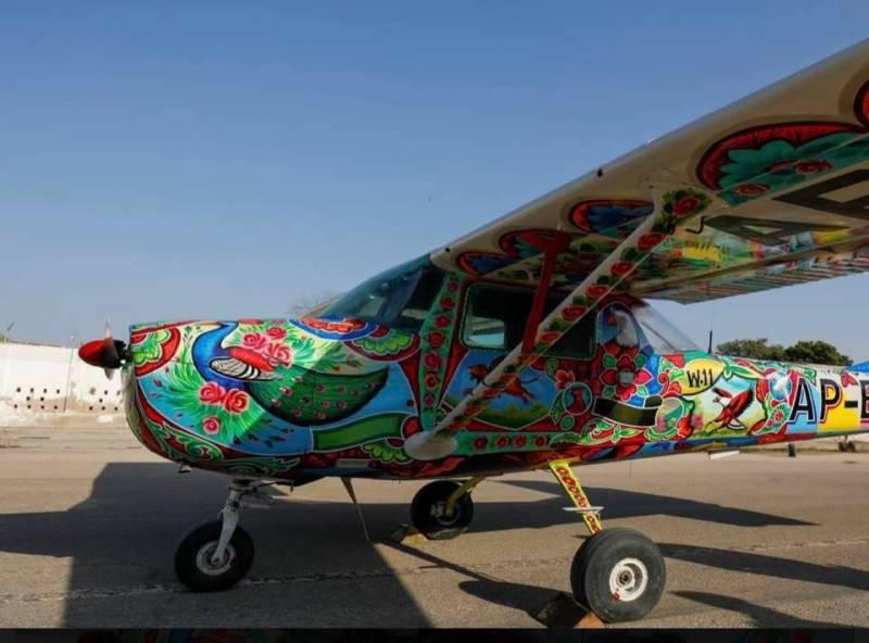 Pakistan's world-famous truck art touches the sky