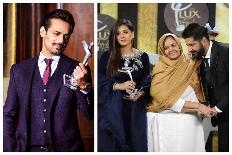 Zahid Ahmed, Imran Ashraf declared Best TV Actors at LUX Style Awards 2020