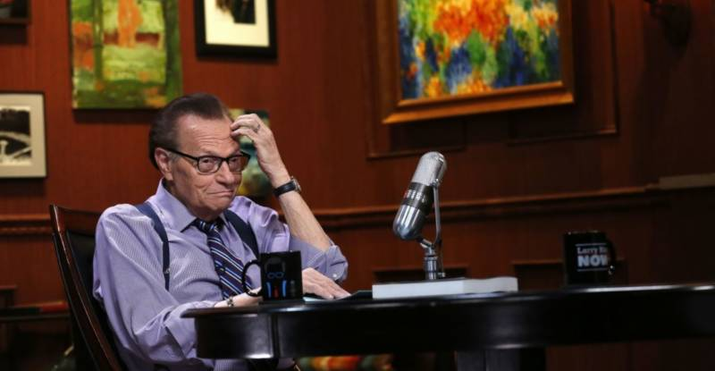 Larry King hospitalised after testing positive for COVID-19