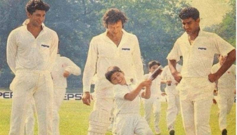 Imran Khan shares throwback picture from famous Pepsi commercial of 89