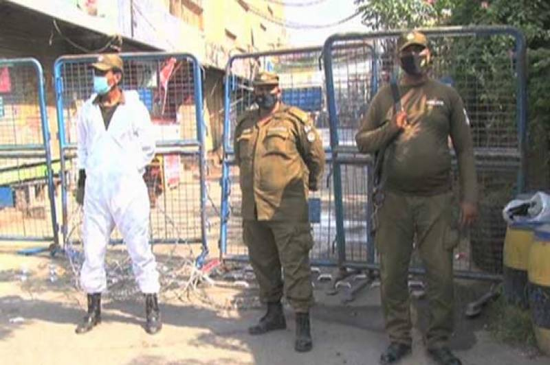 COVID-19 — Smart lockdown imposed areas of Lahore, Gujranwala