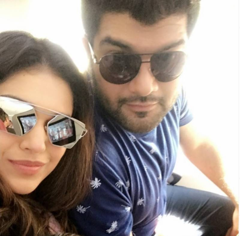 Sanam Jung shoots down rumors of divorce with husband