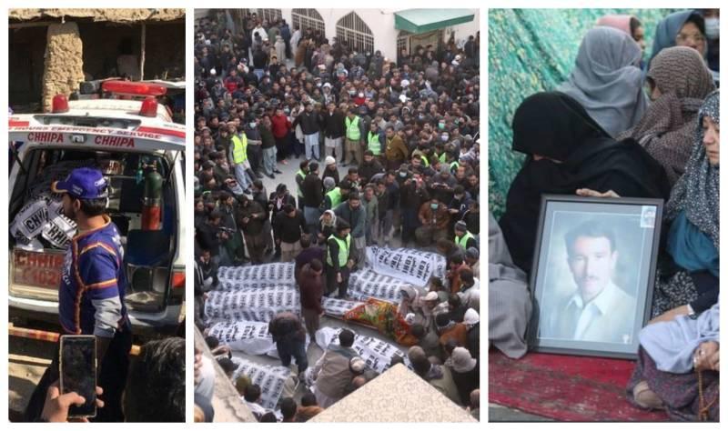 Eleven coal miners shot dead in Balochistan's Machh