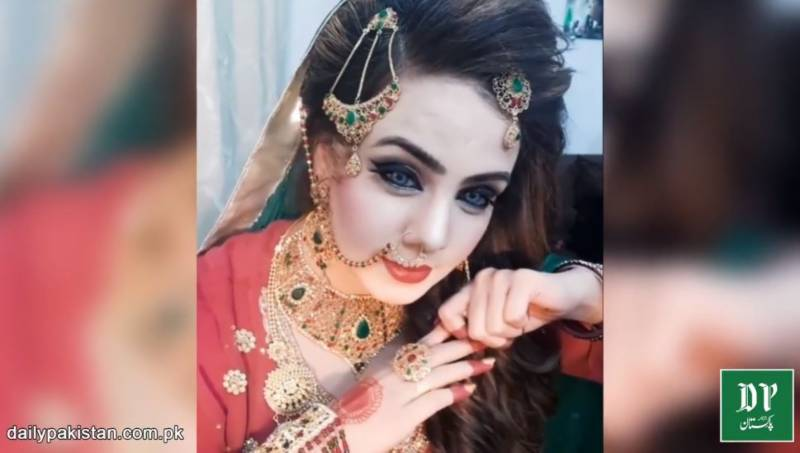 This Pakistani woman dresses up as a bride every Friday, but why? (VIDEO)