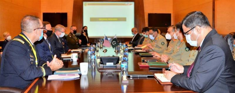 US delegation visits GHQ for consultations on Pakistan-US Strategic Level Defence Dialogue