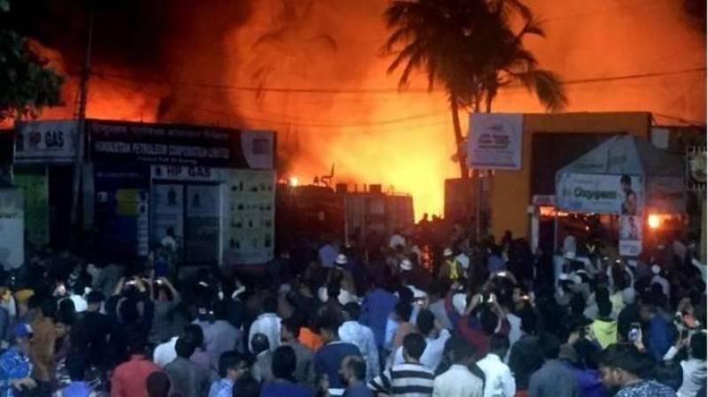 Fire kills 10 newborns in Indian hospital