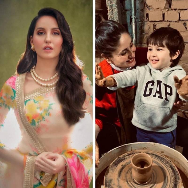 Nora Fatehi reveals she wants to marry Taimur, leaving Kareena Kapoor shocked