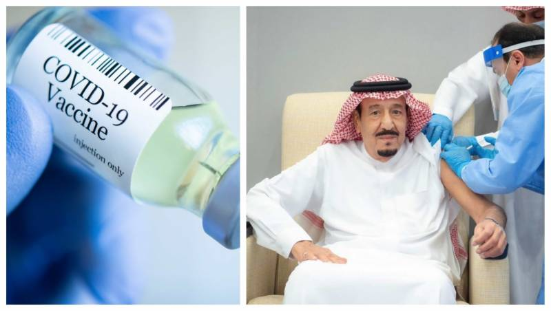 Saudi King Salman receives first dose of Covid-19 vaccine (VIDEO)