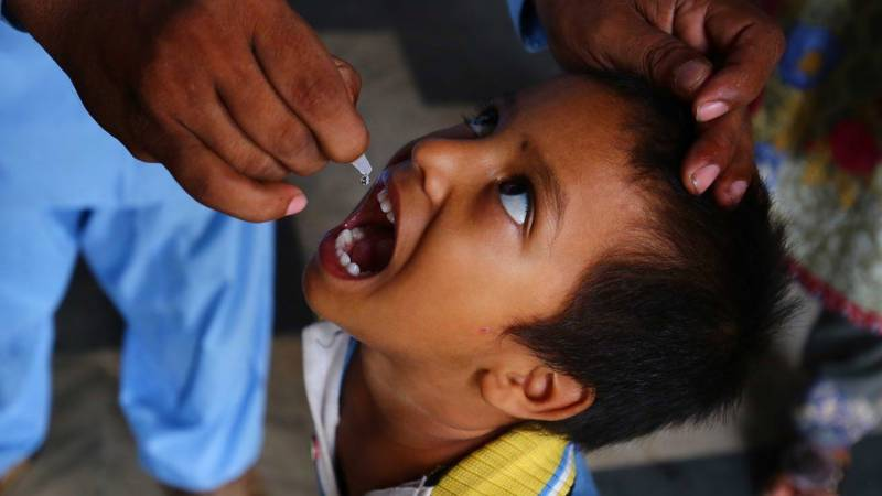 Pakistan launches first polio vaccination drive in 2021