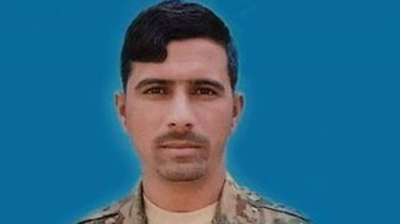 Soldier martyred in Waziristan operation laid to rest with full military honour