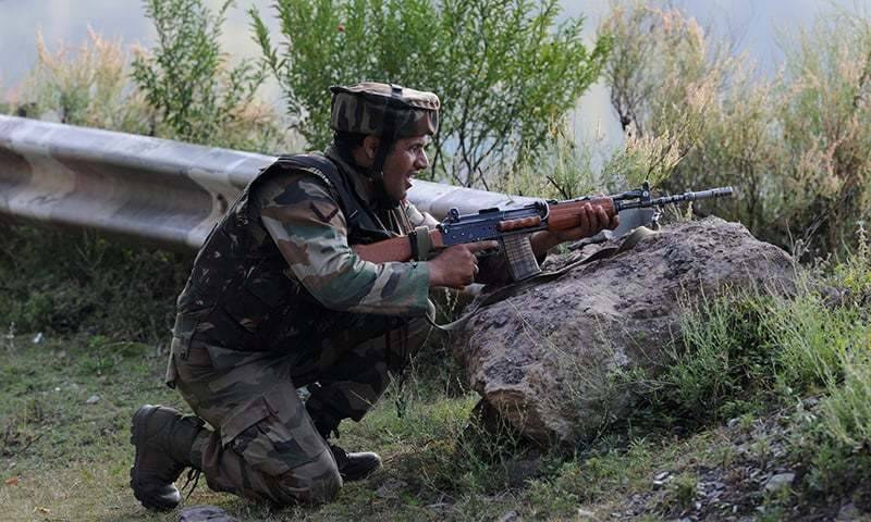Two elderly citizens injured in Indian firing along LoC