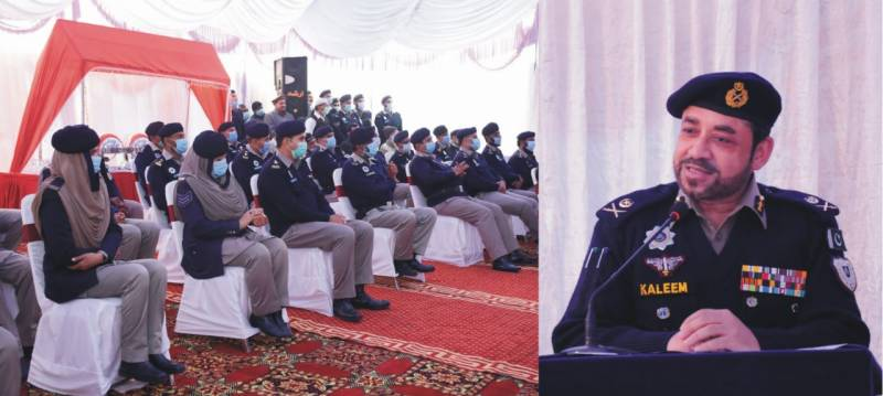 'Courteous dealing recognition and top priority of Motorway Police,' says IGP Kaleem Imam