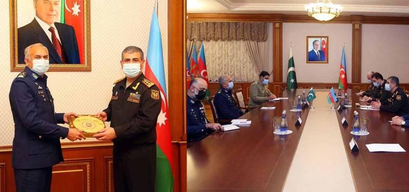 PAF delegation visits Azerbaijan to enhance military ties