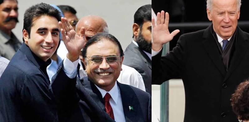 US invites Bilawal,Asif Zardari to Biden's oath-taking ceremony