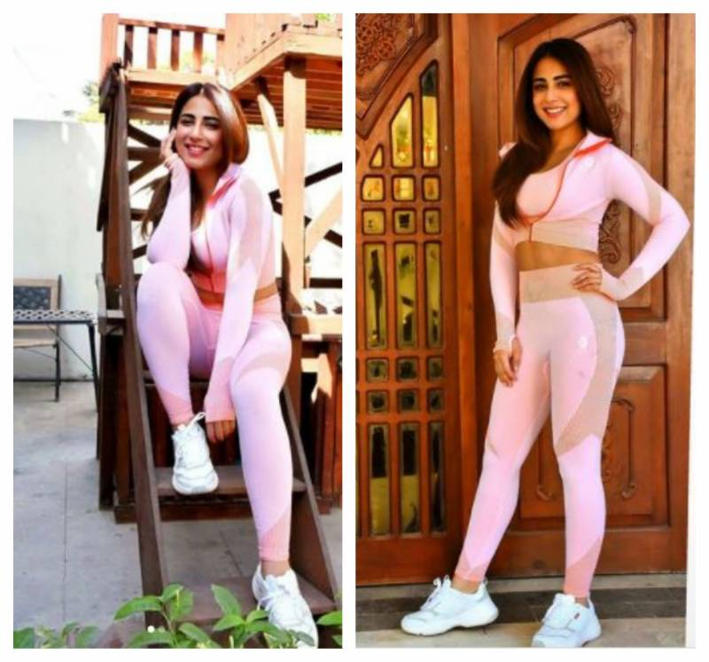 Ushna Shah claps back at trolls who tries to fat-shame her