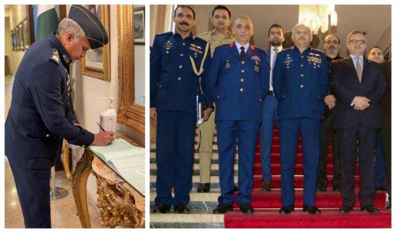 After Azerbaijan, Pakistan Air Force chief reaches Turkey on official visit