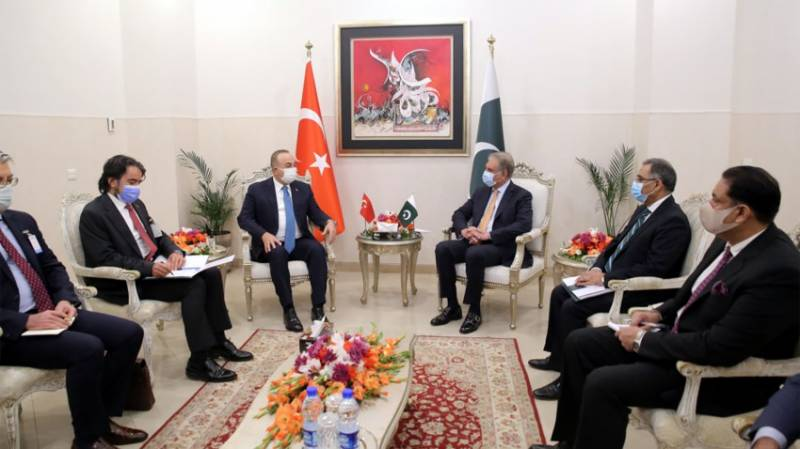 Pakistani, Turkish FMs agree to pursue joint strategy at international level