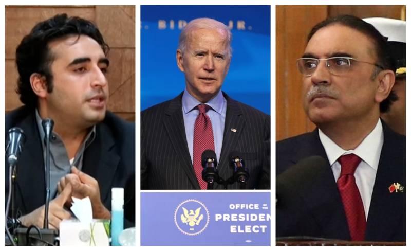 Bilawal, Zardari not invited to Joe Biden's inauguration