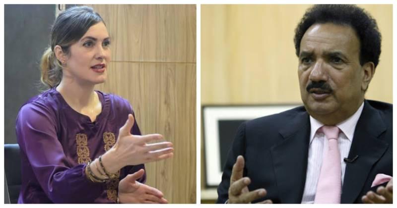 Cynthia Ritchie, Rehman Malik legal tussle ends