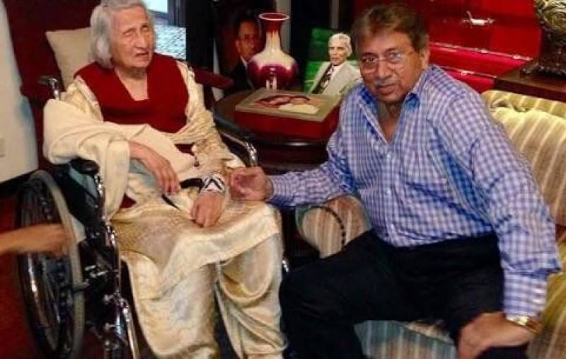 Gen Pervez Musharraf's mother passes away in Dubai
