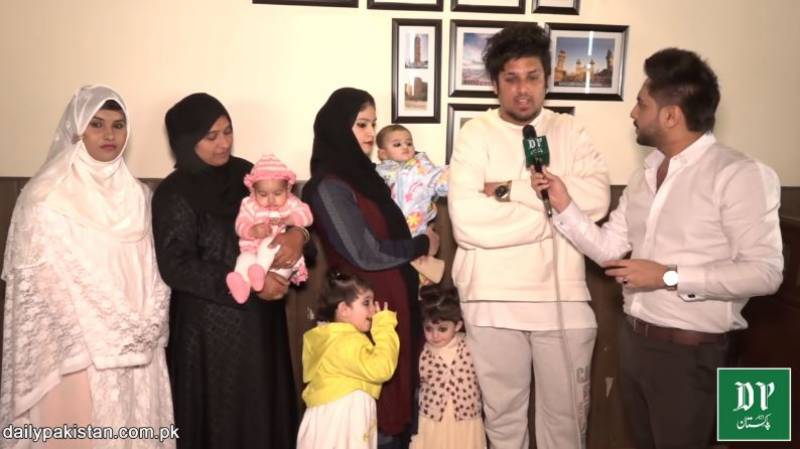 The Pakistani man with three wives interviewed again by Daily Pakistan… here's why! (VIDEO)