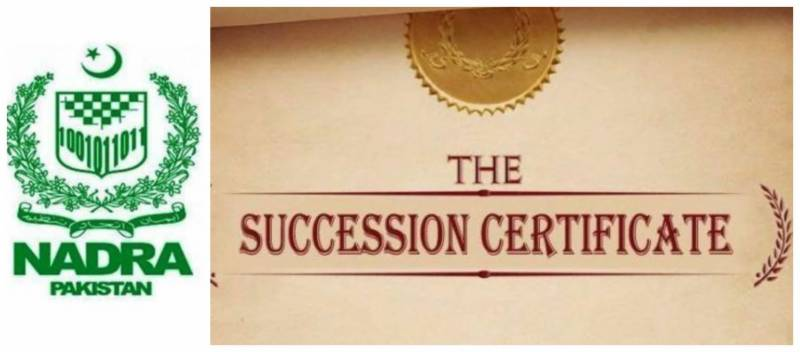 NADRA to issue succession certificates after new law passed in Sindh