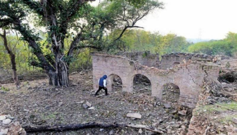 500-year-old mosque discovered in Pakistan's capital (VIDEO)