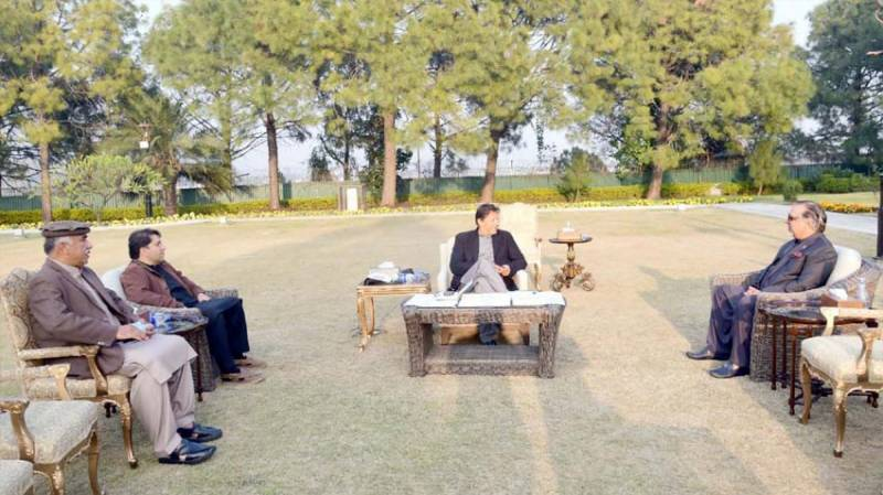 KP, Sindh governors call on PM Imran