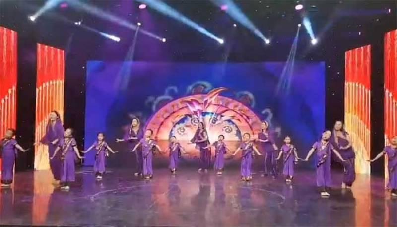 Chinese children's performance on Sohni Dharti winning hearts in Pakistan (VIDEO)