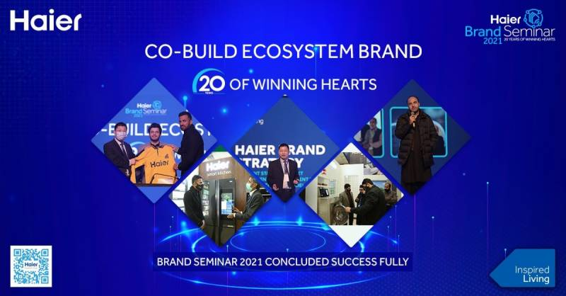 Co-build ecosystem with Haier brand seminar 2021
