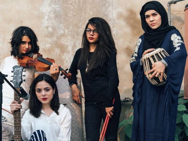 Pakistan's only The All Girl band takes the internet by storm with latest song