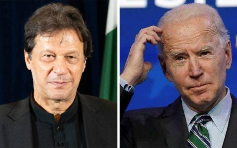 Pakistan PM Imran congratulates Joe Biden on POTUS inauguration