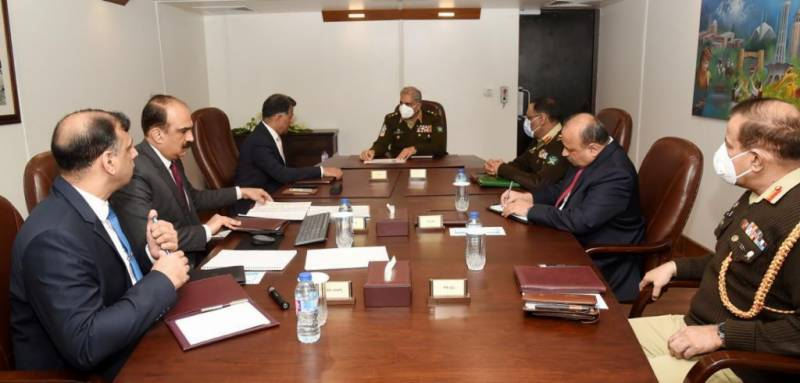 Pakistan Army chief hails tireless efforts of ISI for national security