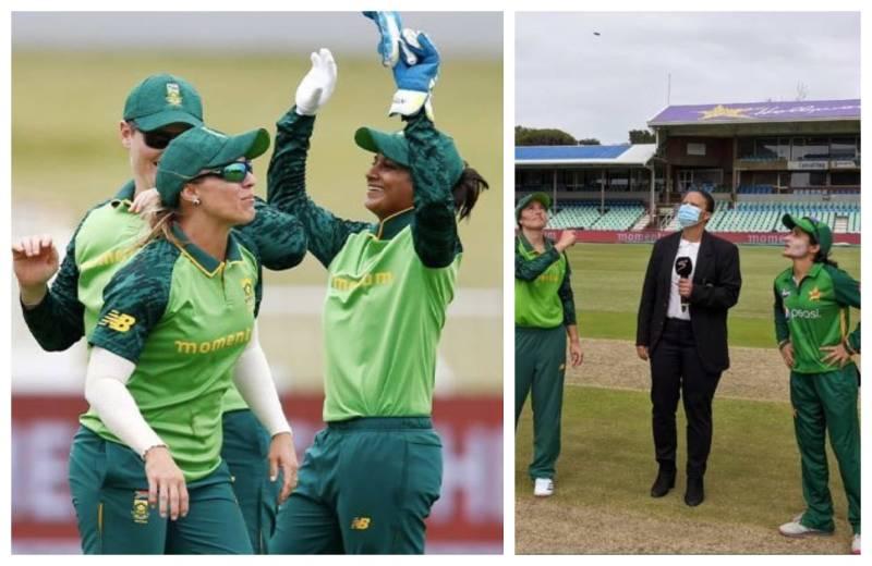 PAKWvSAW: Pakistan women lose first ODI against Proteas