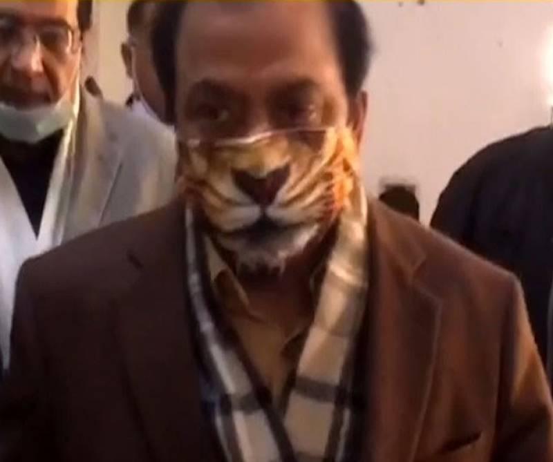 A paper tiger? PML-N's Rana Sanaullah 'roars' at Lahore court (VIDEO)